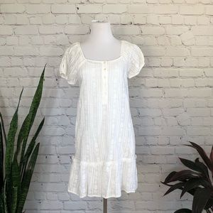 NWT GAP White Embroidered Dress